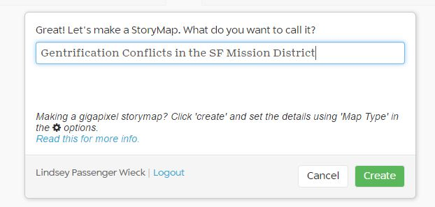 on what is a story map